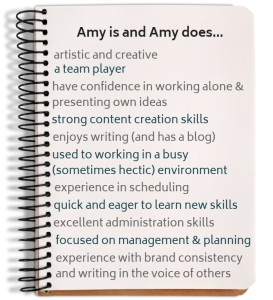 amy is and amy does
